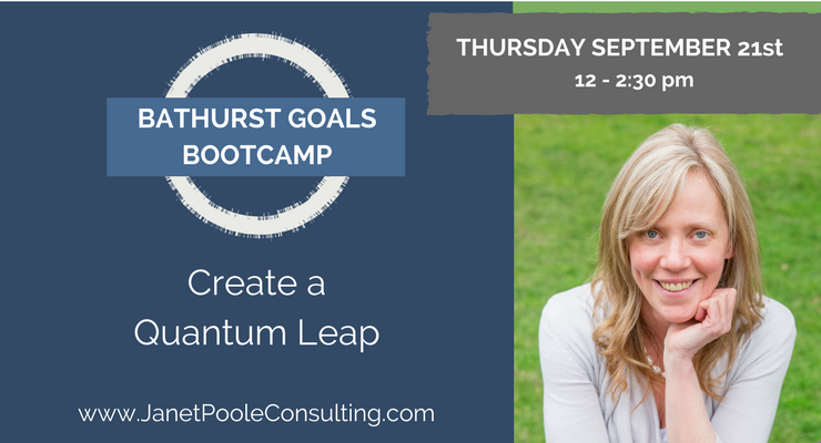 Bathurst Goals Bootcamp - September 21st 2017 from 12 - 2:30pm
