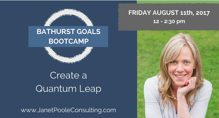 Bathrust Goals Bootcamp - Create a Quantum Leap