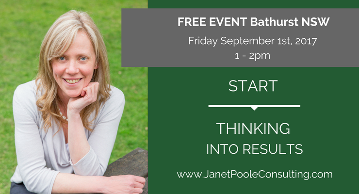 Sept 1st 2017 - Start Thinking Into Results