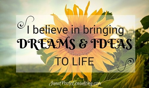 I believe in bringing ideas & dreams to life