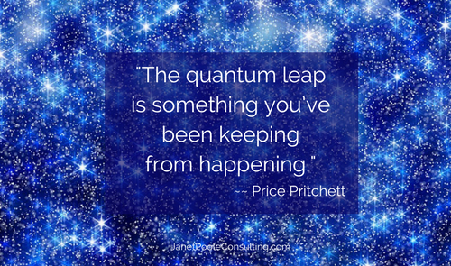 Is This Keeping Your Quantum Leap From Happening?
